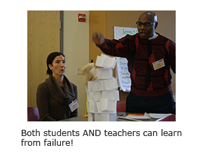 Both students AND teachers can learn from failure!