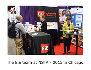 The EiE team at NSTA - 2015 in Chicago.