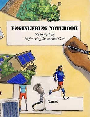 Youth record their data in this Engineering Everywhere: Bioinspired Gear engineer's notebook.