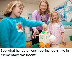 EiE videos take you inside the elementary engineering classroom