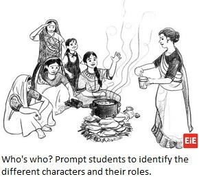 EiE storybook illustrations can be tools for ELA teaching