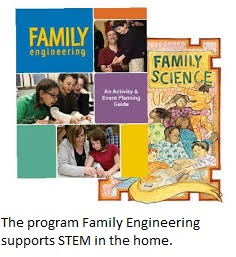 Family Engineering is great for at-home STEM.