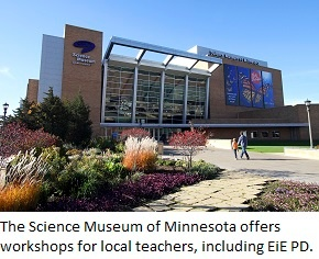 The Science Museum of Minnesota - exterior view.
