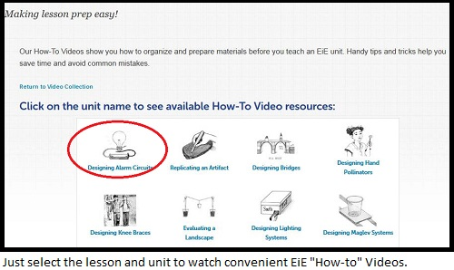EiE web page_How-to Videos