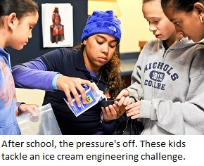 Engineering a process for making ice cream with Engineering Everywhere from EiE.