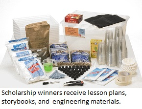 An Engineering is Elementary (EiE) materials kit.