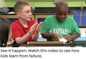 EiE Video Snippet shows how kids learn from failure