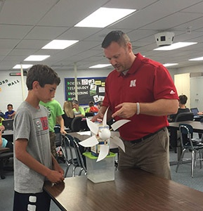 Iowa classroom engineering with Burke Swenson