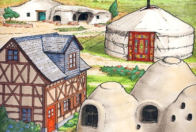Insulated Homes illustration