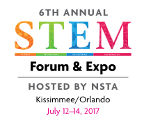 NSTA STEM Forum Logo
