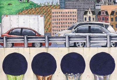 Runoff illustration
