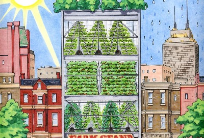 Vertical Farms illustration