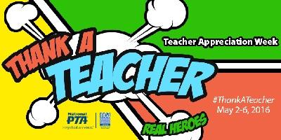 Thank a Teacher logo