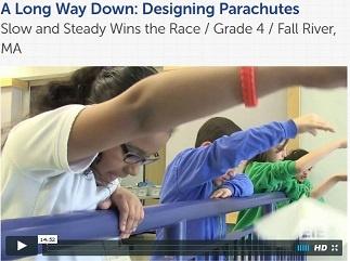 Parachutes video