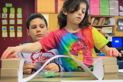 Kids and Bridge Image