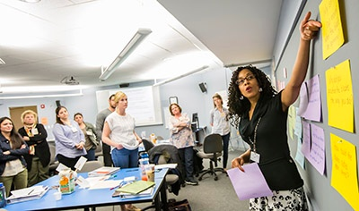 EiE staff teaching