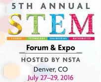 NSTA STEM Forum Logo