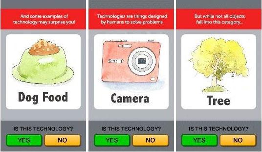 Screenshot of Technology Flashcards