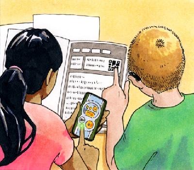 Instructional Cards illustration