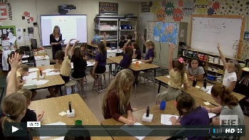 Classroom video, Sound lesson 1