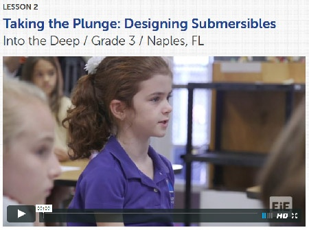 Taking the Plunge classroom video, lesson 2