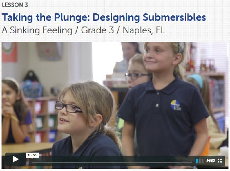 Taking the Plunge classroom video, lesson 3
