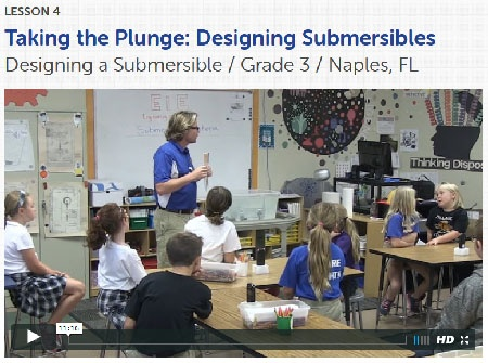 Taking the Plunge classroom video, lesson 4