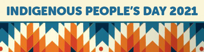 Indigenous People's Day 2021 Banner